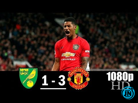 Norwich City vs Manchester United 1-3 – All Highlights & Goals